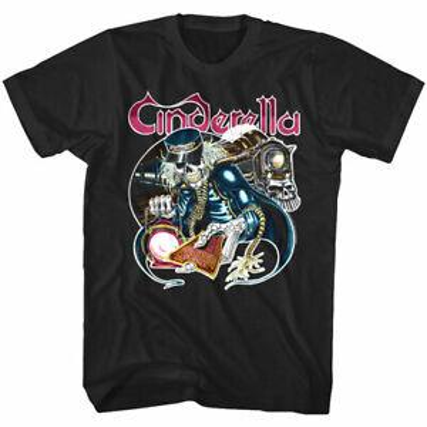 Cinderella One Way TiBrandet Album Cover Men's T Shirt 80's Glam RoBrand Band Concert