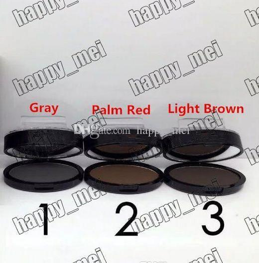 Free Shipping ePacket New Makeup Eyes NO:K146 Seal The Eyebrow Powder!Gray/Palm Red/Light Brown