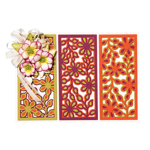 3pcs/Set Flowers Layers Metal Cutting Dies Stencil for DIY Scrapbooking Photo Album Embossing Paper Cards Decorative Crafts