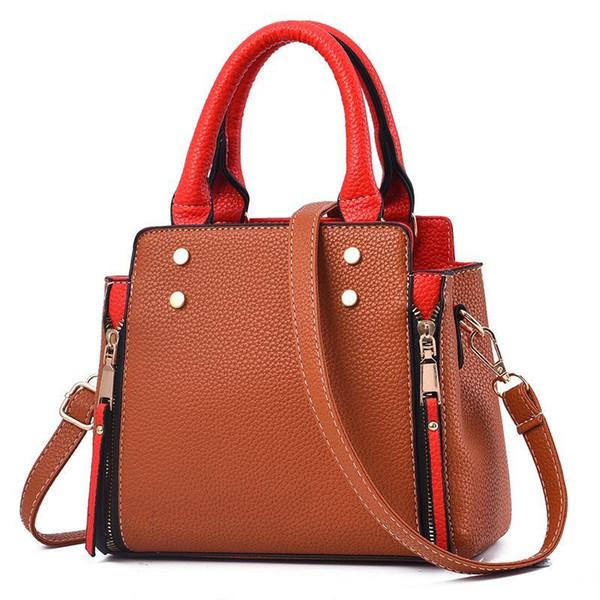 2019 kadın çanta Kişilik eğilim renk bayan çanta eğimli bayan çanta lüks tasarımcı yüksek kalite ile çarpışır