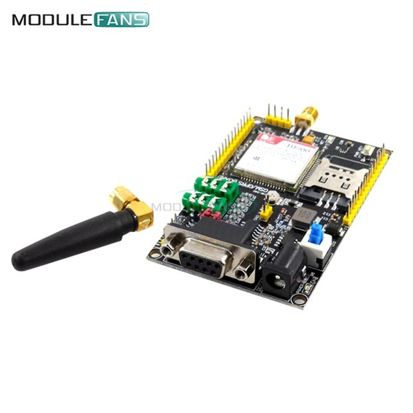 3.3V 5V SIM800 GSM GPRS Module SIM900A Upgrade Board GPS Module Support TTL For 51 STM32 Smart Electronics High Performance