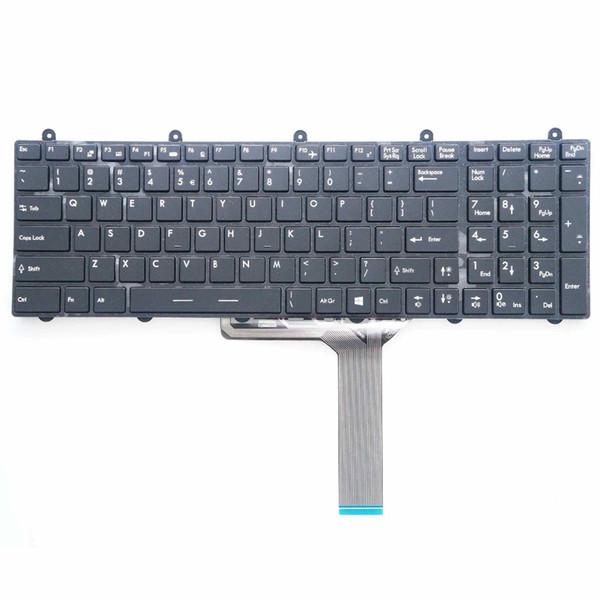 YENI Orijinal UI MSI GT60 GT70 GE70 GE60 MS-1762 için Arkadan Aydınlatmalı klavye V139922AK1