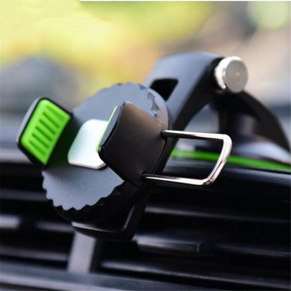 Car Mobile Phone Mount Cell Phone Holder for Car Dash Windshield Dashboard Universal 360 Degree Rotating for iPhone Samsung GPS Devices