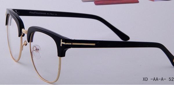 Marka Yeni Gözlük Çerçeveleri Erkek Kadın Siyah Gözlük erkek güneş gözlüğü Erkek Kadın Güneş gözlükleri Koyu Gözlük Boy Kare Çer ...
