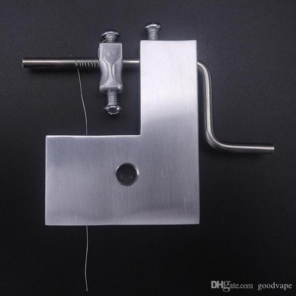 Bobinadora manual Bobinas de alambre de fiebre herida hermética 5in1 Atomizador Base Bobina de alta calidad Plantilla para vaporizador VAPE RDA RDTA RTA Atomizador