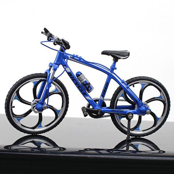 Competir con de camino de la bici azul