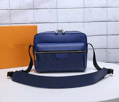 New Outdoormessenger bag luxury handbag designer messenger bag designer luxury handbag plaid design classic fashion bag 5A quality 43845