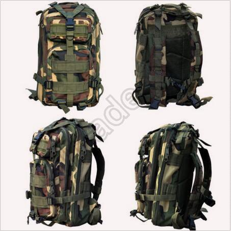 30pcs CCA3495 High Quality 30L Hiking Camping Bag Military Tactical Trekking Rucksack Backpack Camouflage Molle Rucksacks Attack Backpacks