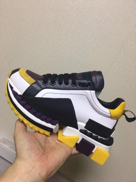 2019 ücretsiz kargo moda tasarımcısı ayakkabı severler sıcak sneakers kalite ile çok rahat ayakkabılar hakiki deri loafer'lar