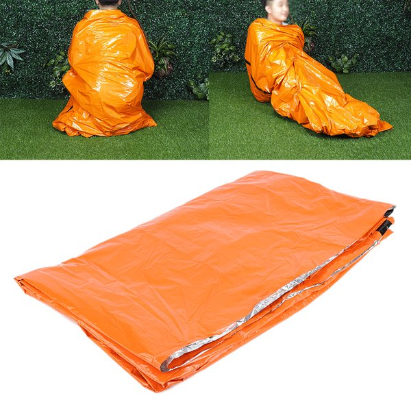 New Portable Outdoor Camping Hiking Emergency Warm Heat Waterproof Sleeping Bag