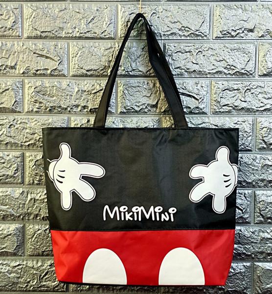 2019 new Cartoon Large Capacity bag Shoulder Shopper lady handbag women shopping Leisure Fashion Satchel lunch box bag
