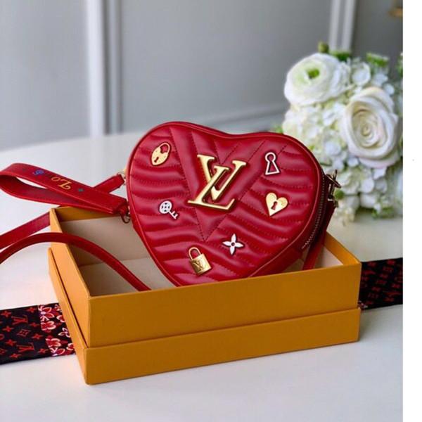 Frauentasche hohe Qualität Schulterhand Größe 18x15.5x5cm Exquisite Geschenk-Box WSJ011 # 111919 xia8803
