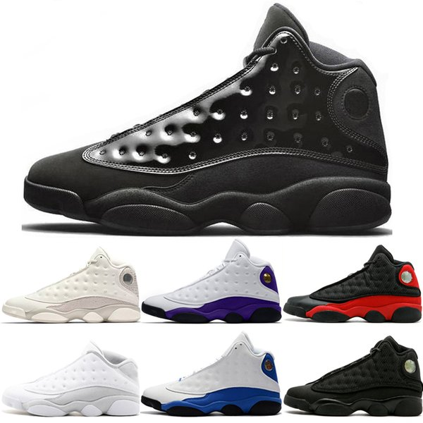 Cap and Gown 13 13s Men Basketball Shoes Court purple Atmosphere Grey He Got Game Black Cat DMP Hyper Royal Sport Sneakers Trainers