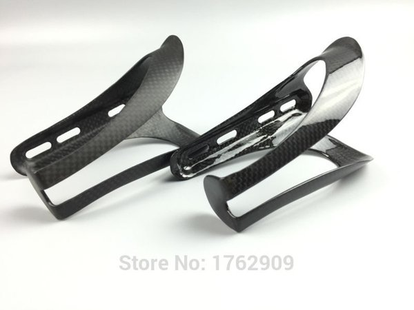 2pcs New lightest Road bicycle full carbon fibre drink water bottle cages Mountain bike carbon bottle holder MTB parts Free ship #41907