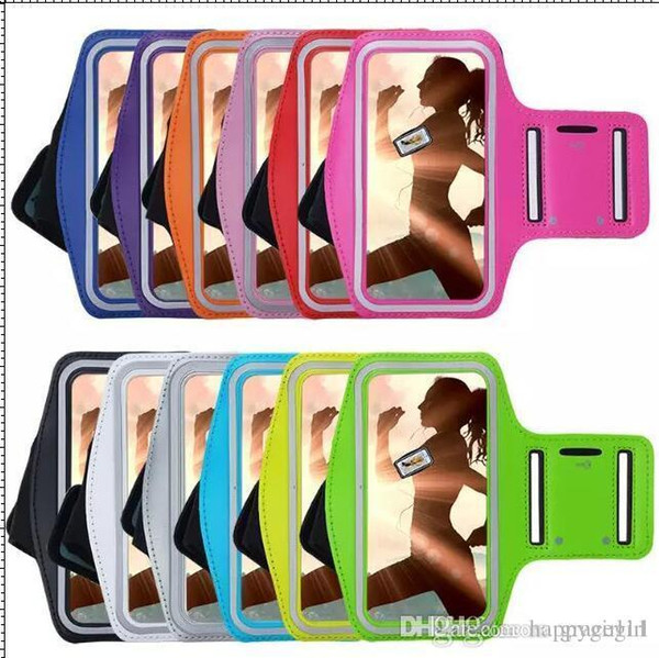 For Iphone XR 6 7 8Plus 5 5C SE 5S 4G 4 4S Ipod Touch 4 5 6 Armband Case Holder Pouch Running Gym Sport Pounch Arm Cycling Band skin Luxury