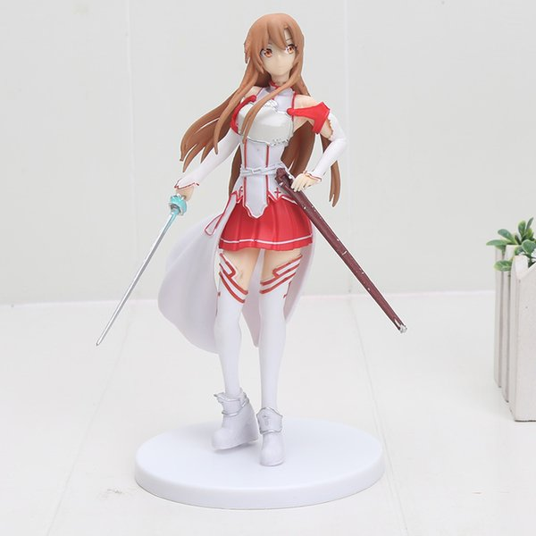 Sword Art Online AsunaYuuki Sexy Anime figura de acción Art Girl Big Boobs Tokio Japón Anime Juguetes Sexuales para adultos Productos de PVC Envío gratis