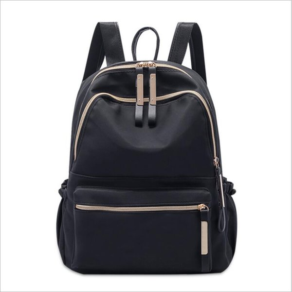 Designer Backpack Designer Backpacks for Teenage Girls with Double Zipper Oxford Messenger Bag Luxury Ladies Travel Backpack