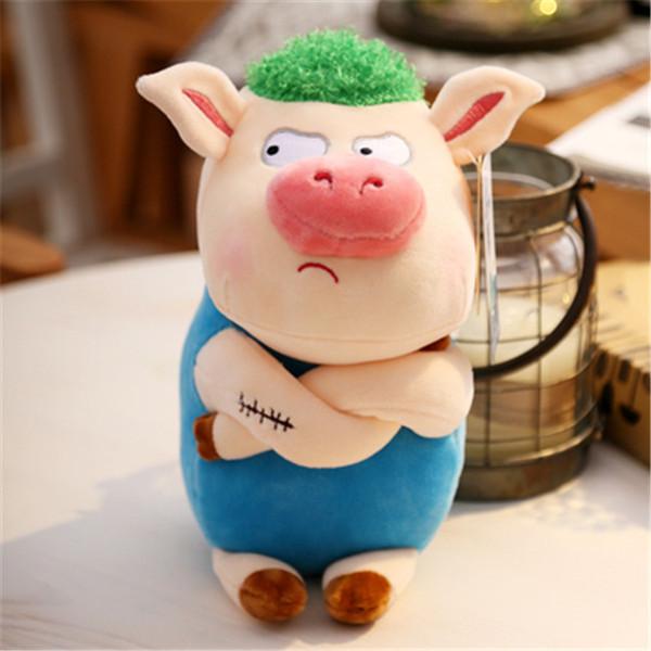20170722 2019 New Product Curly Pig Plush Toy 22cm Stuffed Animal Doll Cute Birthday Gift Kids Mini Soft