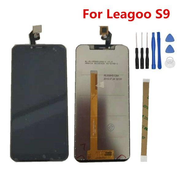 Für Leagoo S9 LCD Display 5,85 Zoll + Touchscreen Digitzer Montage Reparatur Panel Glas Zubehör Für Leagoo S9 Handy Teile