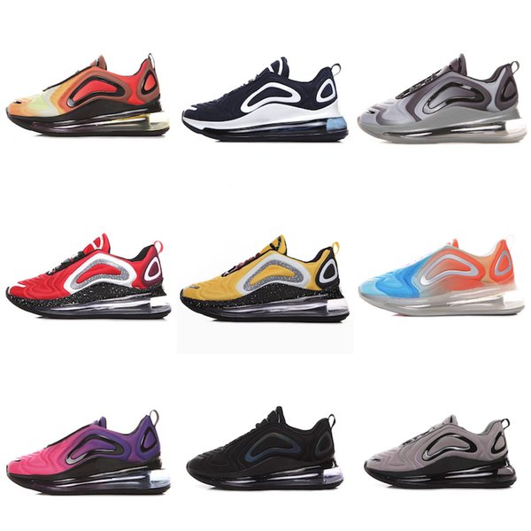 Nike Air Max 720 2019 vente chaude Chaussures Sneaker Running Chaussures Trainer Future Series Jupiter Cabine Vénus Panda Casual Chaussures Pour Hommes Femmes