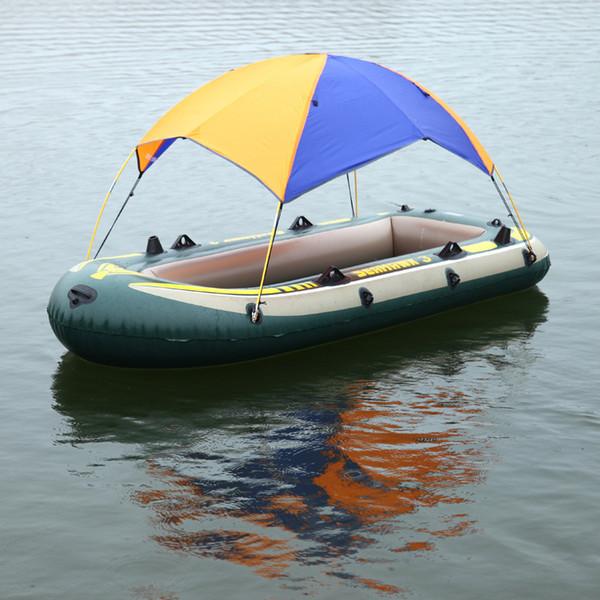 Schlauchboot Kajak Zubehör Angeln Sonnenschutz Regenschutz Kajak Kit Segelboot Markise Obere Abdeckung 2-4 Personen Bootsüberdachung