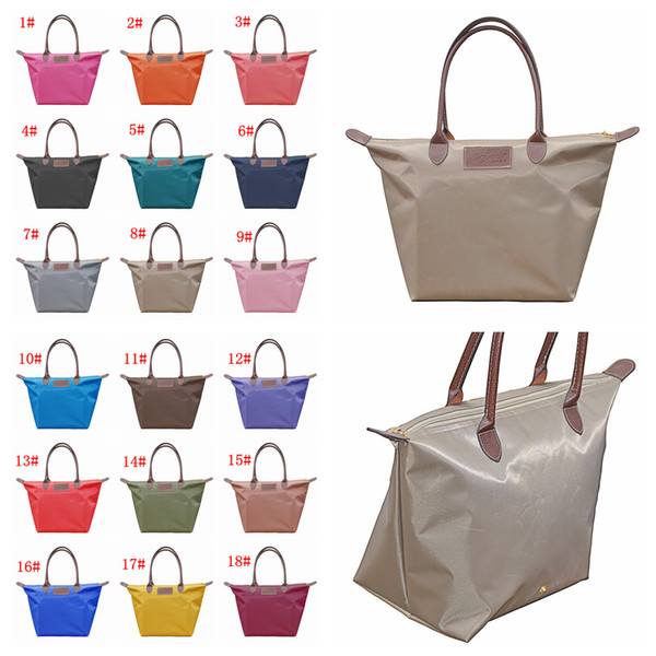 18styles Dumpling Handbag Women Candy Color Cosmetic Bags Waterproof Storage Bag Totes Shopping Bags travel duffle storage pouch FFA2011