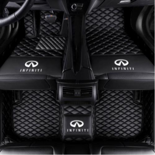 best selling Car Floor Mats For Infiniti FX35 G37 M35 QX30 QX50 QX60 QX56 QX70 QX80 Waterproof Mat luxury custom waterproof floor mats