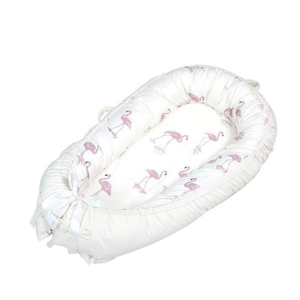 Warm Baby Bed Mattress Newborn Soft Cotton Thick Blanket terus Crib Flannel Cotton Velvet Detachable Comfortable Sleep Blanket