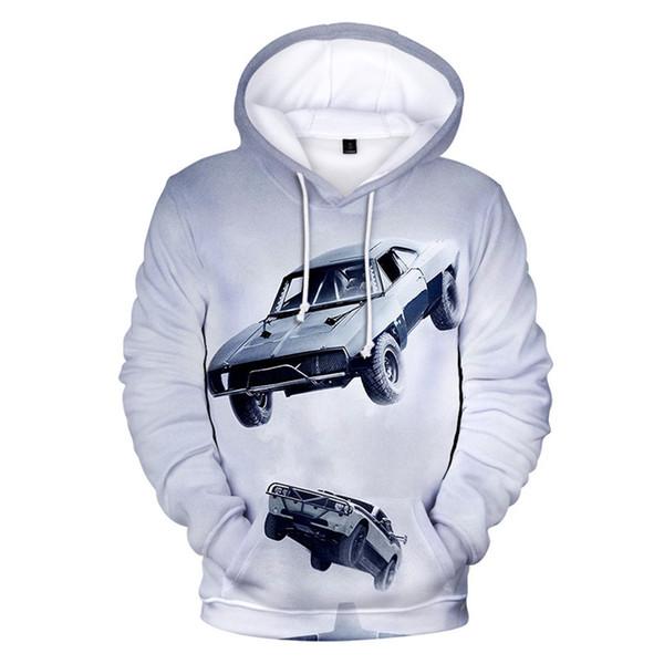 Luxury 3D Printed Hoodies Casual Pullover Long Sleeves Sweatshirt Fashion Hooded Loose Fleece Hoodies