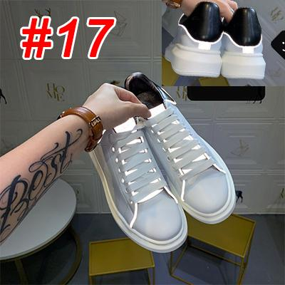 2019 Tasarımcı Ayakkabı Moda Lüks Kadınlar Ayakkabı Erkek Büyük Boy Dana derisi Platformu Sole Günlük Ayakkabılar 3M Yansıtıcı Ek Ayakkabı bağı s02