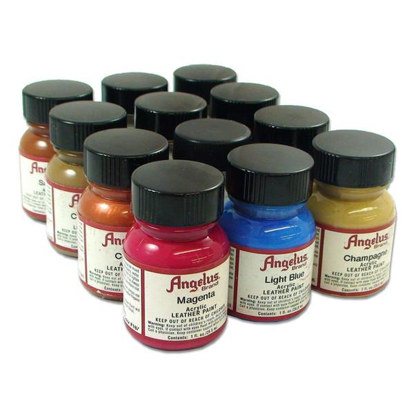 Acheter Kit De Base Peinture Acrylique Pour Cuir Et Vinyle Set 1