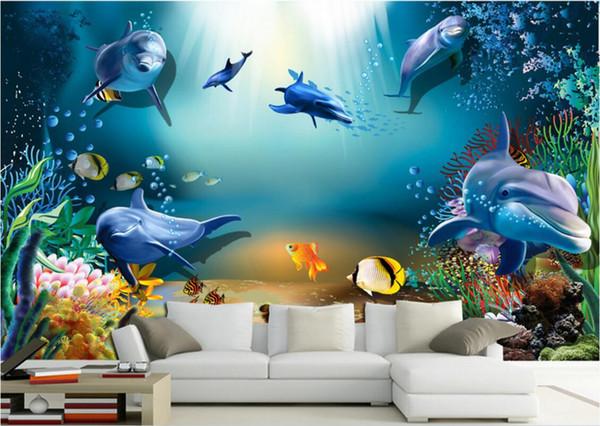 Download 80 Background Aquarium Animated Gratis Terbaik