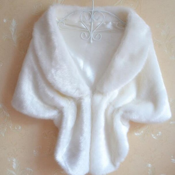 Black White Faux Fur Capes 2018 Imitation Mink Rabbit fur Coat Short Shawl Cape Cloak cardigan Poncho Bolero AH500