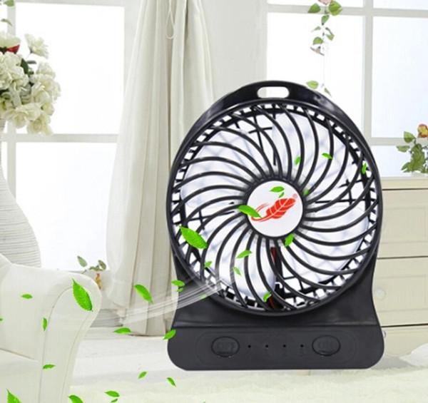 Yeni Taşınabilir Mini Fan Şarj Edilebilir Akıllı El Soğutucu Fan Mini Klima Fanları Ev Ofis Açık Spor Çalışmaları Için