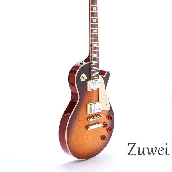 2019 Starshine Top Qualität Limited Edition E-Gitarre Creme Bindung 6 Saiten ABR Bridge Mahagoni Korpus