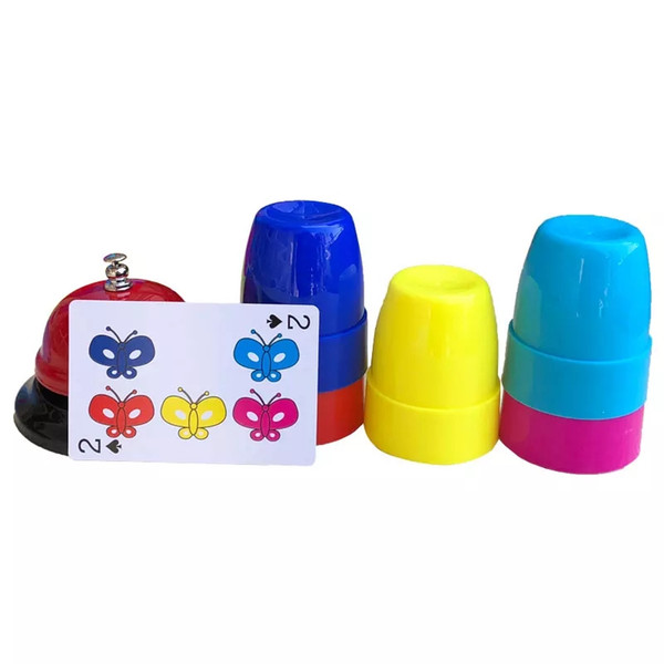 Improve the reaction force observation training competitive stack cup children interactive logic thinking educational toy game