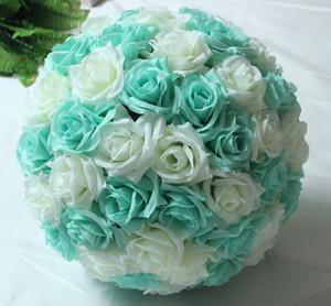 Mint Green White