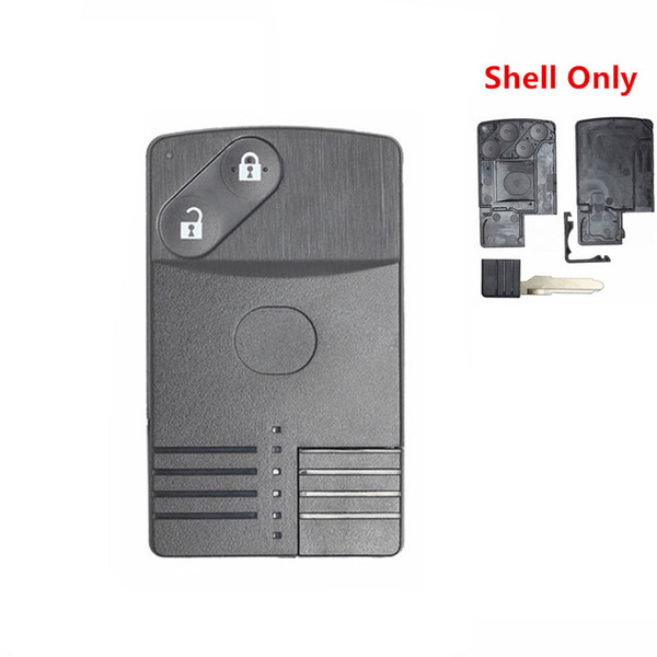 Smart Card Remote Key Shell Buttons Case Fob for MAZDA RX8 Miata