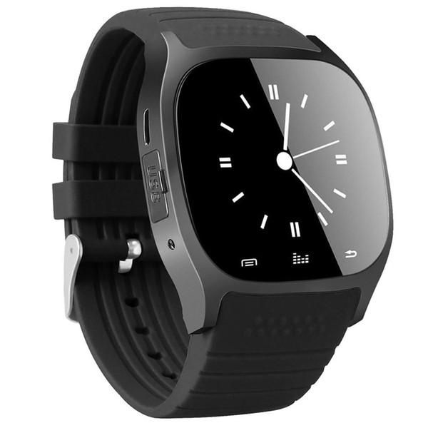 M26 montre intelligente montre-bracelet de sport montre-bracelet portable blurtooth sans fil pour téléphone mobile Android IOS avec boîte de détail 0005