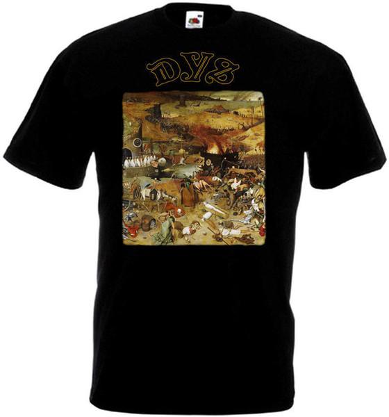 DYS v2 T-shirt black hardcore punk grindcore all sizes S-5XLFunny free shipping Unisex Casual Tshirt top