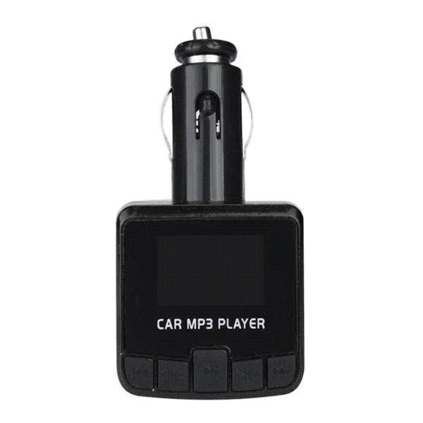 Bluetooth Car Kit Reproductor de MP3 Transmisor FM Adaptador de Radio Inalámbrico Cargador USB jun27 kit de coche bluetooth al por mayor