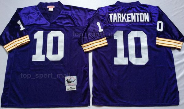 new products 2d59a 4856d 2019 Vikings Minnesota Vintage 28 Adrian Peterson Jersey Men Football 44  Chuck Foreman 10 Fran Tarkenton 22 Paul Krause Team Purple Away White From  ...