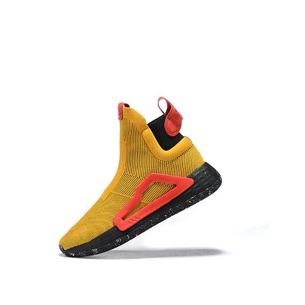 Marque N3XT L3V3L True Wild intercalaire gomme 5 semelles Pro Vision pour hommes Bottes de basket-ball baskets de sport City Sock chaussures haut-top en tricot chaussures-qwdsdac