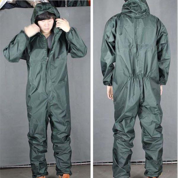 Haut Quanlity Moto Cavalier Imperméable Imperméable Conjoint Rain Costume Combinaison Une Pièce Travail En Plein Air Moto Cavalier Imperméable