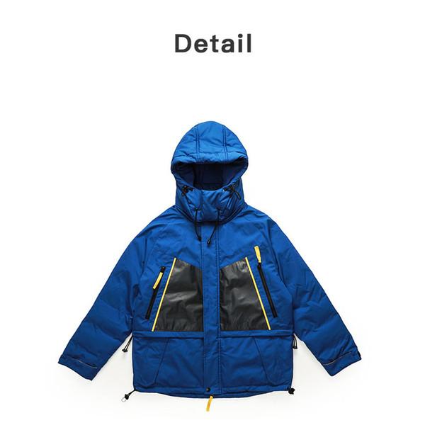 Mens Designer Daunenmantel Luxuy Brief Mens Outdoor dicke Jacken Fashion Active Womens Winter mit Kapuze Kleidung mit Taschen Hot Sell 2019