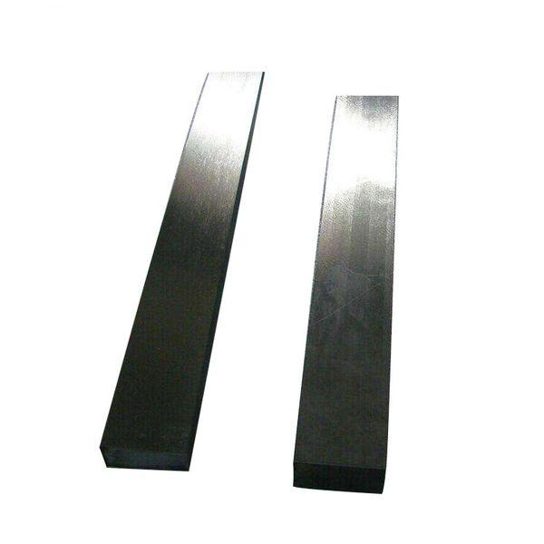 20 * 20mm titanyum kare / satılık düz çubuk astm satılık b348 gr5 titanyum kare barlar Gr1 Gr2 GR5 Titanyum Düz Kare Barlar