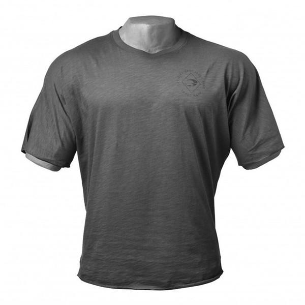 T-shirt manches courtes respirant et absorbant pour hommes avec la sueur et la sueur, imprimé à la mode chez Street