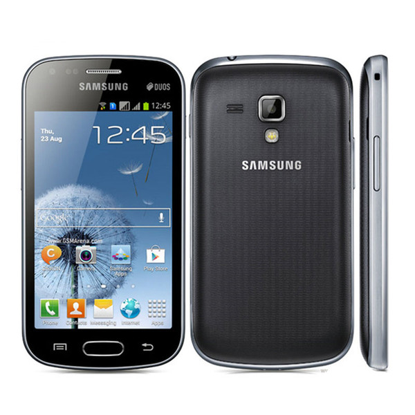 Original Refurbished Samsung GALAXY Trend Duos S7562 S7562I 3G Smart Phone 4.0 Inch Android4.0 WIFI GPS 5MP camera Unlocked phone