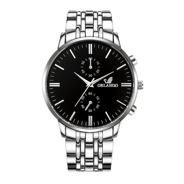 Clock Mens 45mm Men Fashion Sport Quartz Gold Diamonds Watches Men Fashion Watch 2019 Dress Relogio Masculino de luxo