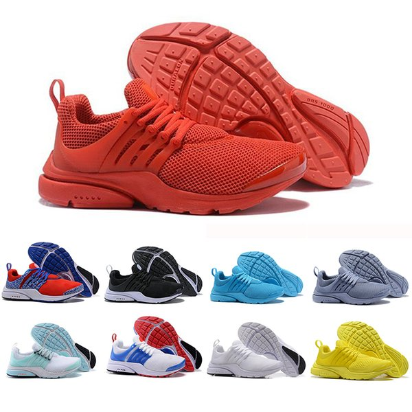 Hot Sale Presto Running Shoes Men Women Ultra BR QS Yellow Pink Prestos Black White Red Outdoor Jogging Brand Mens Trainers Sneakers